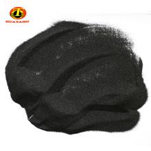 Dureza de corindón negro 8.5 gránulos de óxido de aluminio