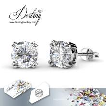 Destin bijoux cristaux de Swarovski Simple Stud Earrings