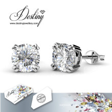 Destiny Jewellery Crystals From Swarovski Simple Stud Earrings