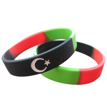 2016 Country Flag Segmented Wristbands for Events