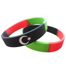 2016 Флаг страны Сегментированные браслеты для мероприятий