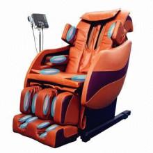 Cadeira de massagem de gravidade zero 3D música elétrica MP3