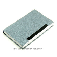 Hot Selling Metal and Leather Business Card Case