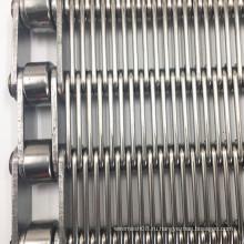 Конвейерная лента с проушиной для термоусадочной упаковочной машины