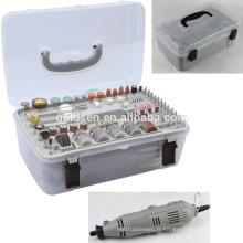 GS CE ETL 135w 217pcs Hand Power petit mini broyeur Kit Portable Hobby Electric Rotary Tool Accessory Set