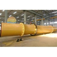 Fabricación profesional de tres cilindro secador rotatorio con buena calidad