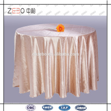 Wholesale Jacquard Table Linens Customized Hotel Table Cloth Manufacturer