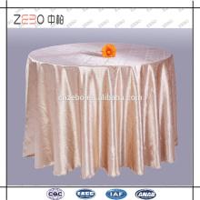 Оптовая Jacquard Table Linens Подгонянная таблица ткани гостиницы Пзготовителей