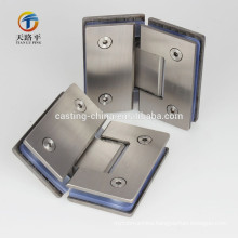 casting stainless steel door hinge for glass gate