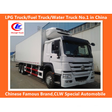 Sinotruk HOWO 6X4 371HP camion frigorifique camion frigorifique congélateur