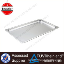 High Quality Buffet Equipment Cafeteria Stainless Steel Square Tray