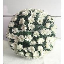 bolas decorativas penduradas decorativas plásticas da flor para o teto