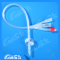 Hospital Disposable Use Silicone Rubber Foley Catheter for Medical Use