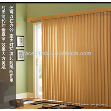 Dekorative hölzerne vertikale Vorhänge der kundengebundenen Jalousien