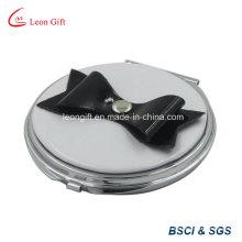 Bogen-Deco-Runde kleine kompakte Schminkspiegel