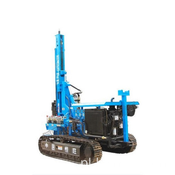Solar Photovoltaic Crawler Hydraulic Pile Driver Machine