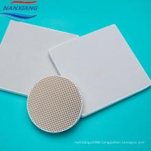 Infrared honeycomb ceramic BBQ plates for burner