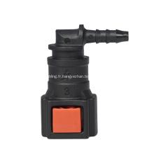 Connecteur rapide urée 1/4 SAE adapter au tube de Nylon ID3