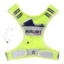 Reflective Vest Safety Surveyor Clothing Pockets Orange China Vest/