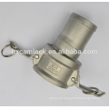 Stainless steel camlock female coupler manufacture
