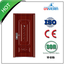 Iron Door with Tempered Glass