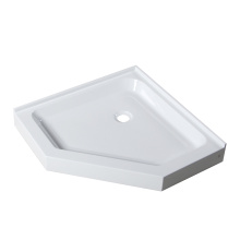 36 Corner White Neo Basis Shower