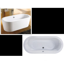 Upc Iapmo Approved Top View Baño independiente