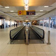 Станция Конвейер Электрический Автоматический Пассажирский Переезд Тротуар