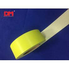 Fluorescent Yellow Anti Flame Retardant Reflect Cloth Colorful Reflective Material Tape