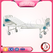 adjustable hospital single function steel manual adult bed