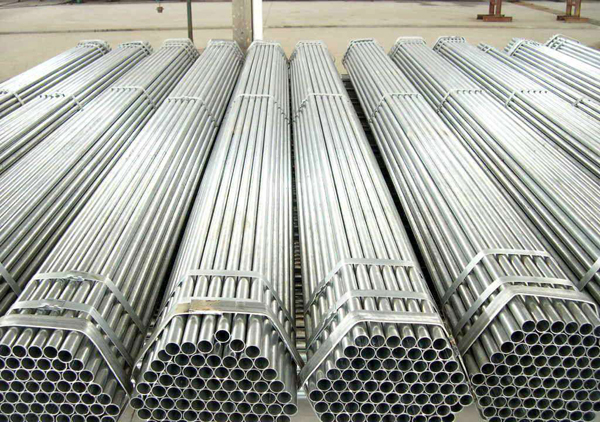 galvanized steel - straight pipe joints-ERW steel pipe