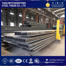 Feixe de aço estrutural do material de construção ASTM A992 Gr.50 H