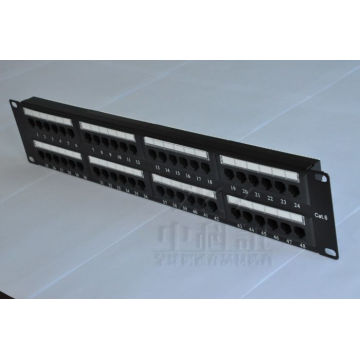 Panel de conexiones In24port / New / Black