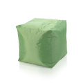 Home furniture general use square stool beanbag chair
