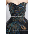 2017 hot sell winter fashion evening dress for Bridesmaids short design offer shoulder party wear evening dress women