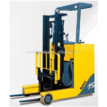 Stand-on electric/battery forklift reach truck high lift reach truck Electric Reach Truck, AC Power and EPS