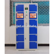 Steel material gym clubs use electronic key card smart locker
