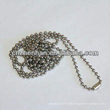 4.5mm*6mm metal curtain chain with metal bead buckle,roller blind chain,bead ball chain,curtain accessory,roller blind component