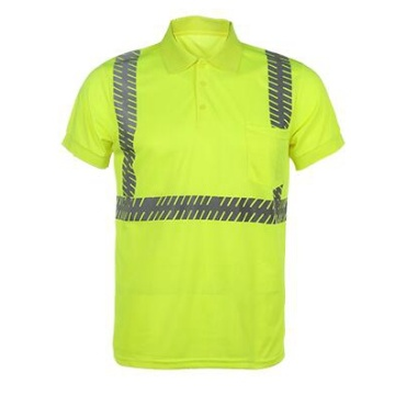 Hi Vis Reflective Safety Work T-Shirts