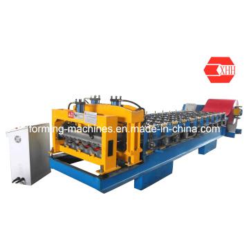 Yx38-210-840 Glazed Tile Metal Roofing Machine