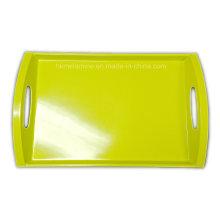 Bandeja de melamina cuadrada de 20 pulgadas con logotipo (fw3159)