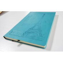 cahier recyclé spirale imprimée personnalisée cahier d'impression en gros