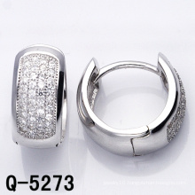 Fashion Jewelry Hoop Earrings 925 Silver (Q-5273)