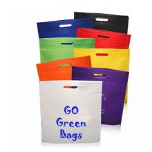 Reusable non woven clothing bag