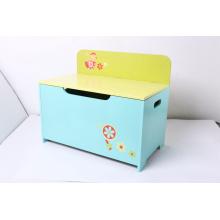 Хранение Деревянные игрушки хранения игрушек Box Скамейка для хранения вещей Детская мебель Украшение Мебель