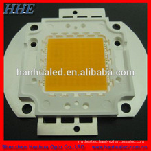 100w warm white 3000K high power led componnet to make stret lamp