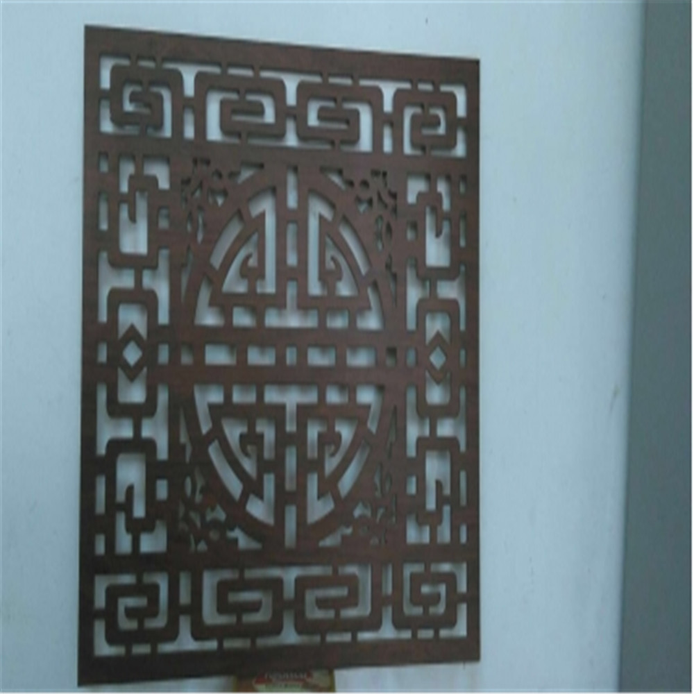 OEM/ODM Laser Cut Outdoor Metal Screen Pattern
