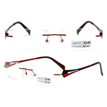 Rimless Metal Glasses Frame (BJ12-299)