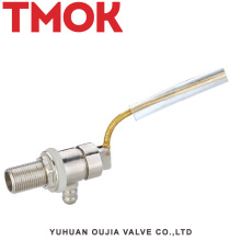 brass small water tank water level float valve