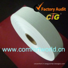 Étiquette d'entretien en nylon